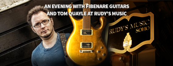 An evening with Fibenare Guitars and Tom...