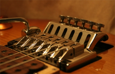 6. CLEST double locking tremolo: